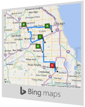 CDXZipStream Overview Bing Maps